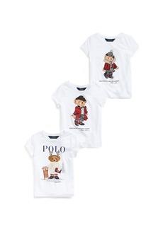 Ralph Lauren Polo Bear Tee 3-Piece Gift Set