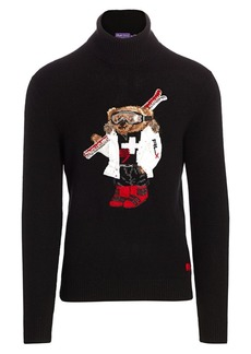 Ralph Lauren Polo Bear Turtleneck Sweater