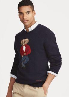 Ralph Lauren Polo Bear Wool Sweater