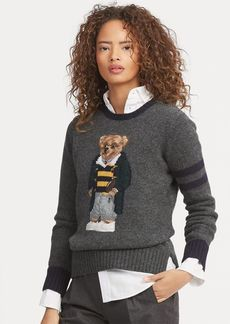 Ralph Lauren Polo Bear Wool Sweater