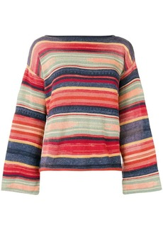 Ralph Lauren: Polo bell sleeve knitted top