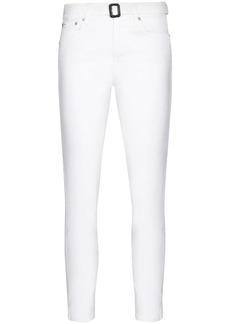Ralph Lauren: Polo belted high-rise jeans