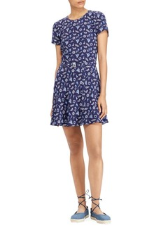 Ralph Lauren: Polo Belted Mini Dress
