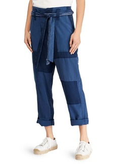 Ralph Lauren: Polo Belted Patchwork Pants