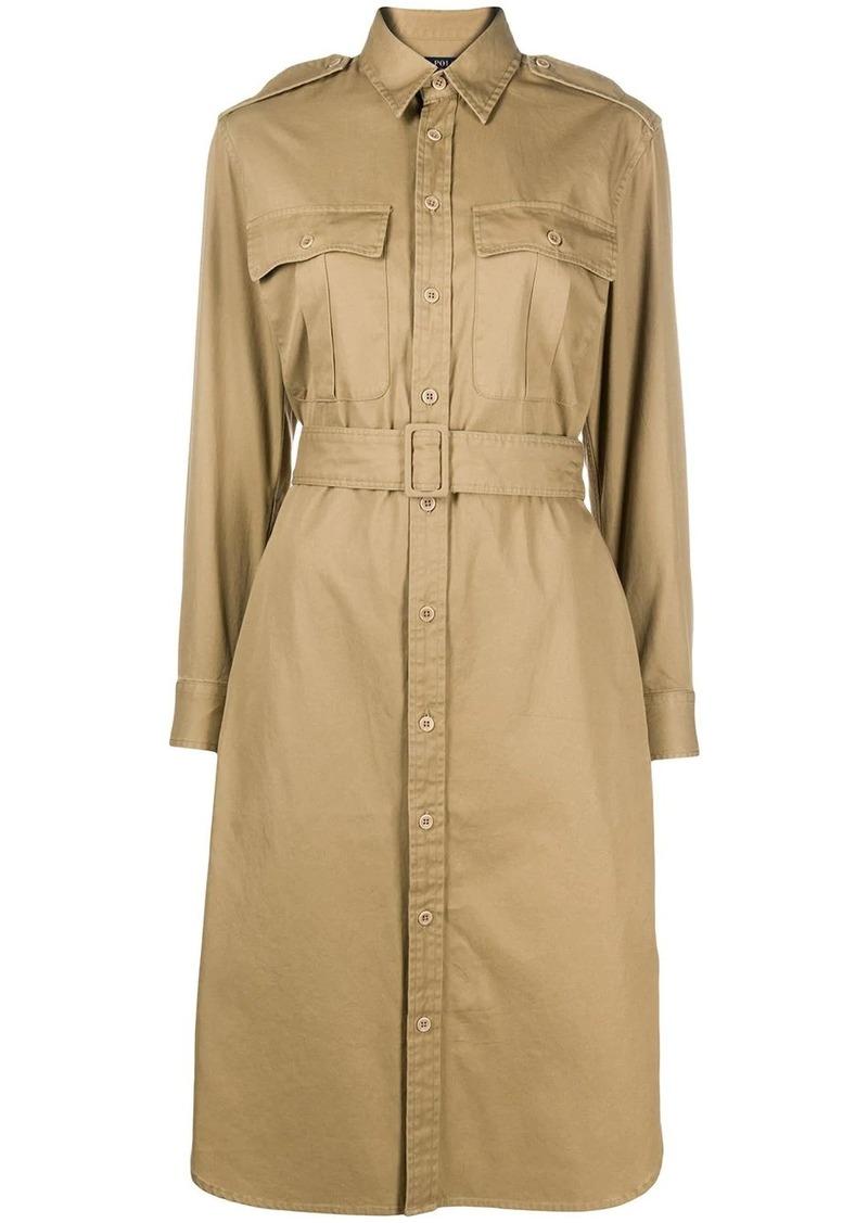Ralph Lauren: Polo belted shirt dress
