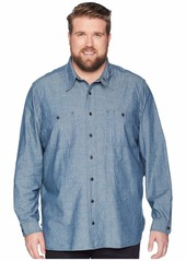 Ralph Lauren Polo Big & Tall Chambray Utility Sport Shirt
