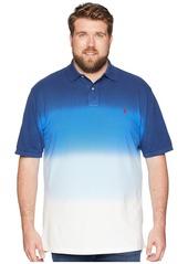 Ralph Lauren Polo Big & Tall Dip Dye Pique Polo