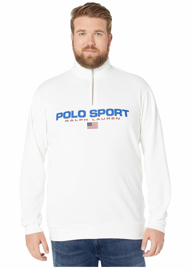 Ralph Lauren Polo Big & Tall Long Sleeve Knits - Polo Sport Icons