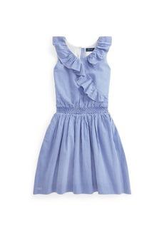 Ralph Lauren: Polo Big Girls Gingham Seersucker Dress