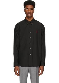 Ralph Lauren Polo Black Stretch Shirt