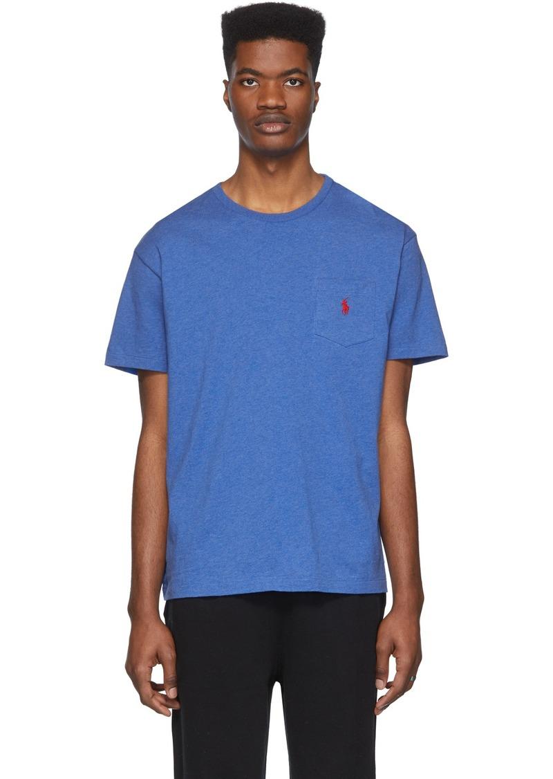 Ralph Lauren Polo Blue Classic Fit Pocket T-Shirt