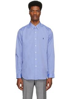 Ralph Lauren Polo Blue Stretch Shirt