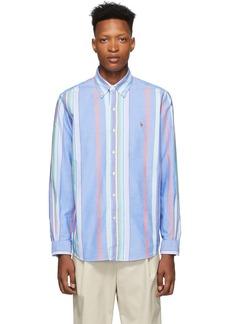 Ralph Lauren Polo Blue Striped Oxford Shirt