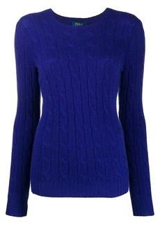 Ralph Lauren: Polo cable knit cashmere jumper