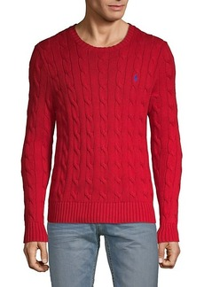 Ralph Lauren Polo Cable-Knit Cotton Sweater