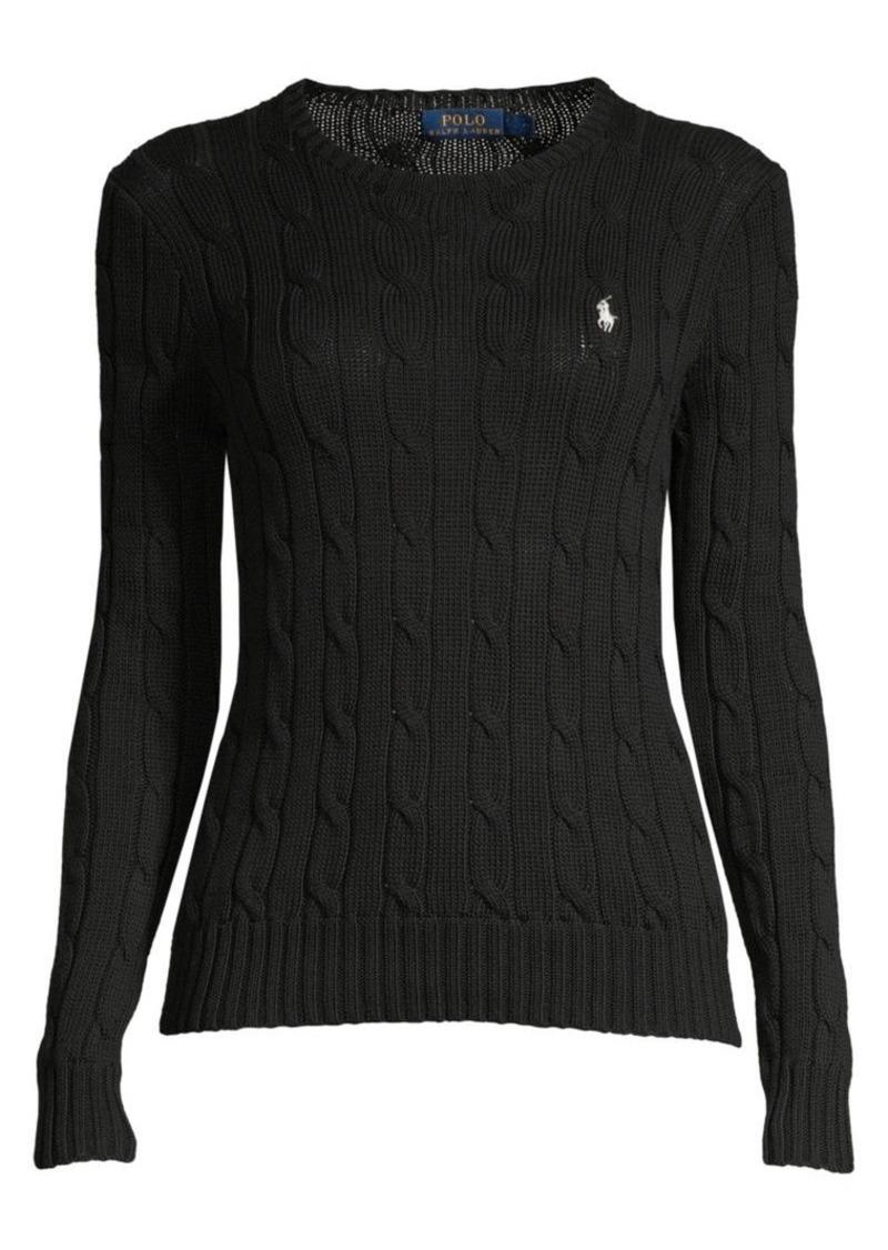 Ralph Lauren: Polo Cable-Knit Cotton Sweater