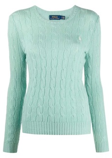 Ralph Lauren: Polo cable knit crew neck jumper