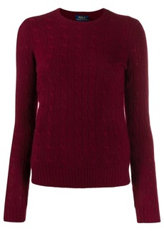 Ralph Lauren: Polo cable-knit fitted sweater