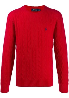 Ralph Lauren Polo cable knit jumper