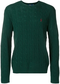 Ralph Lauren Polo cable-knit jumper