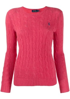 Ralph Lauren: Polo cable knit long sleeve jumper