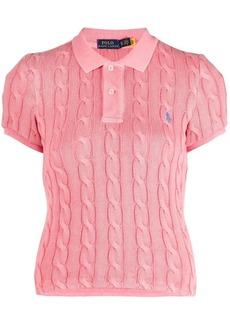 Ralph Lauren: Polo cable knit polo shirt