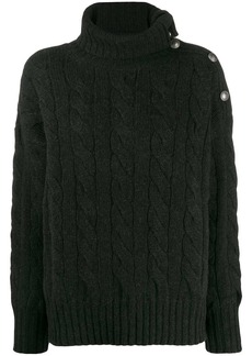 Ralph Lauren: Polo cable-knit roll neck