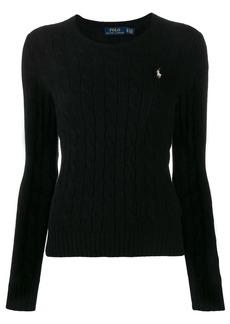 Ralph Lauren: Polo cable-knit slim-fit jumper