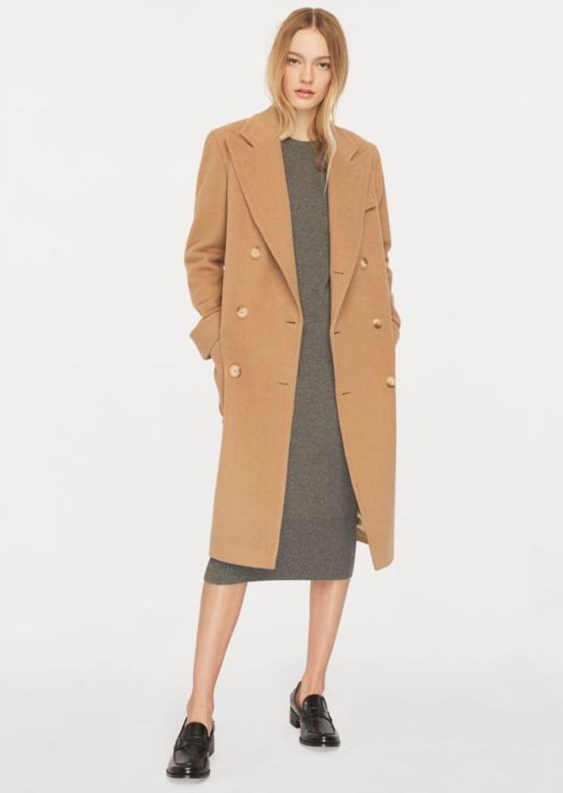 Polo Camel Hair Coat Ralph Lauren