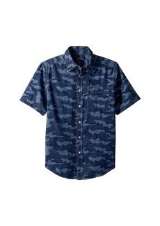 Ralph Lauren: Polo Camo Cotton Chambray Shirt (Big Kids)