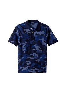 Ralph Lauren: Polo Camo Mesh Polo Shirt (Big Kids)