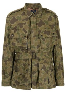 Ralph Lauren Polo camouflage military jacket