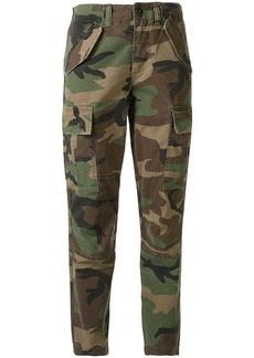 Ralph Lauren: Polo camouflage print cropped trousers