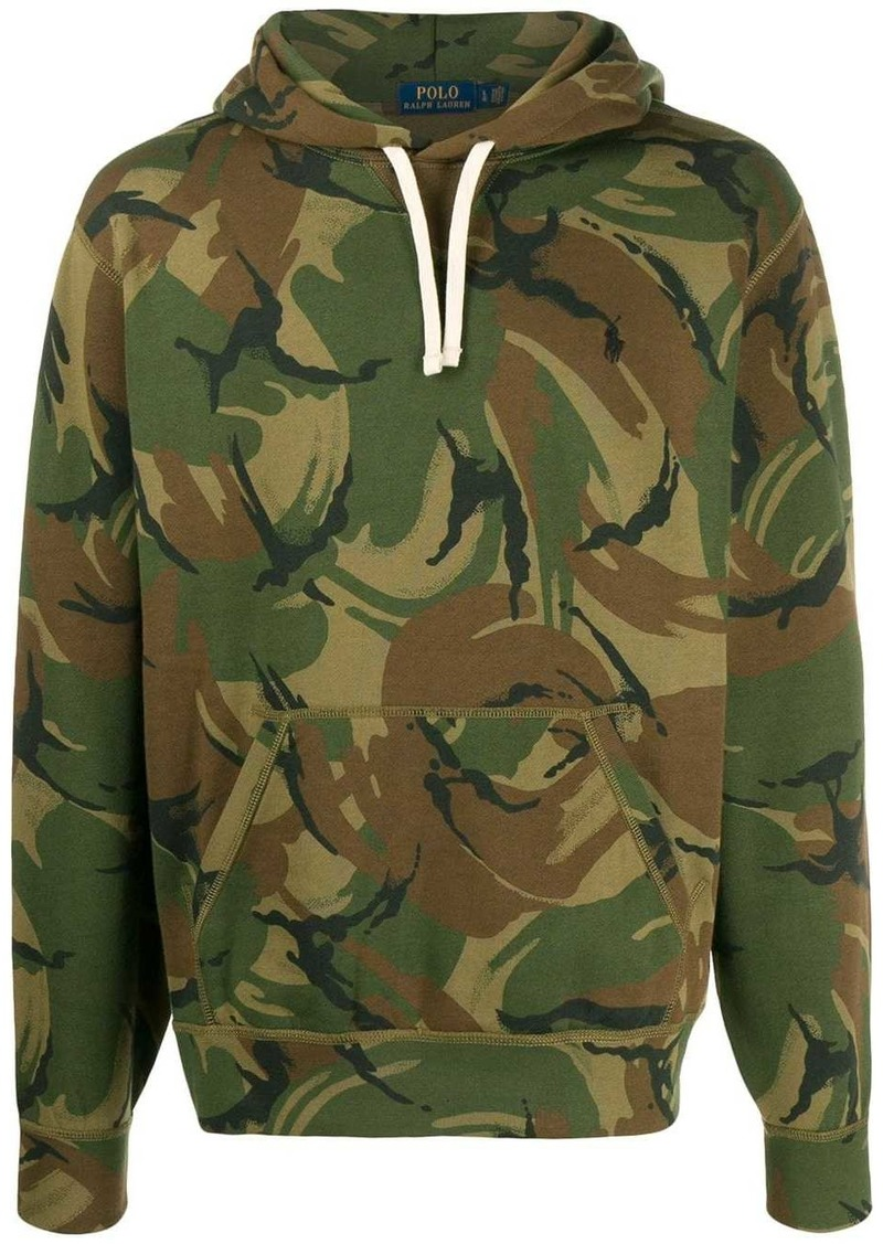 Ralph Lauren Polo camouflage print hoodie