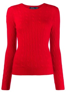Ralph Lauren: Polo cashmere cable knit jumper