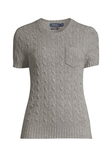 Ralph Lauren: Polo Cashmere Cable-Knit Sweater