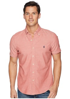 Ralph Lauren Polo Chambray Short Sleeve Sport Shirt
