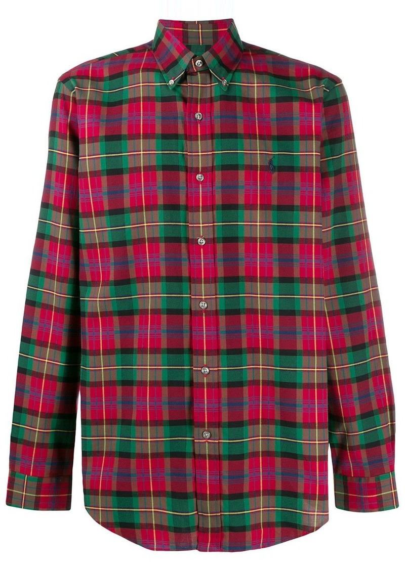 Ralph Lauren Polo check pattern shirt