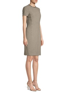 Ralph Lauren: Polo Check Sheath Dress
