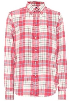 Ralph Lauren: Polo Checked cotton flannel shirt