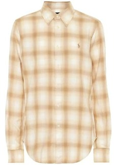 Ralph Lauren: Polo Checked cotton-flannel shirt