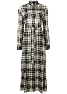 Ralph Lauren: Polo checked long dress