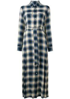 Ralph Lauren: Polo checked maxi shirt dress