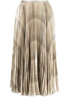 Ralph Lauren: Polo checked pleated skirt