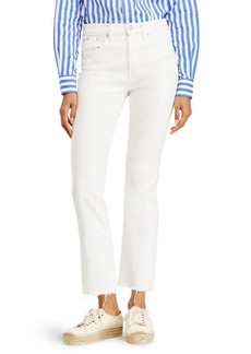 Ralph Lauren: Polo Chrystie Kick-Flare Cropped Jeans