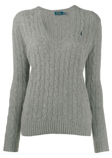 Ralph Lauren: Polo classic cable knit jumper