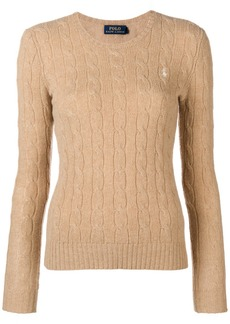 Ralph Lauren: Polo classic cable-knit sweater