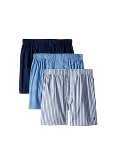 Ralph Lauren Polo Classic Fit 3 Packaged Woven Boxers