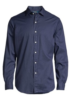 Ralph Lauren Polo Classic-Fit Twill Shirt