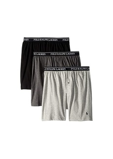 Ralph Lauren Polo Classic Fit w/ Wicking 3-Pack Knit Boxers